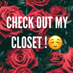 Check Out My Closet 💕